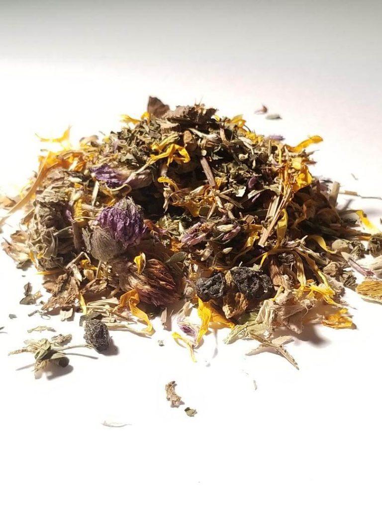 Detox skin tea