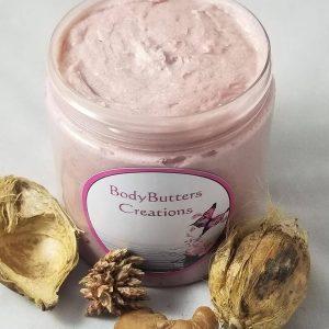 Shimmer butter skin care